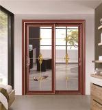 Алюминиевое стекло сползая полую дверь