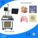 Dispositivo da marcação do laser do CO2 do couro da venda direta da alta qualidade