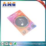 Cartões impressos feitos sob encomenda UV do PVC do ponto com impressão Offset