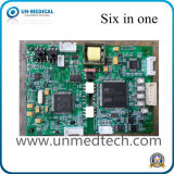 Seis em uma placa do parâmetro para o monitor paciente (Un806)