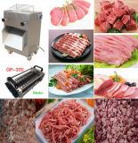Горячим замерли баком, котор Slicer мяса отрезая машины мяса автоматический
