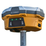 Topografische Surveys en Construction Layout met V60 GPS Gnss Base en Rover Rtk