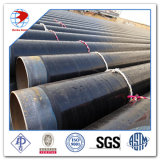 API 5L GR. Tubulação de aço revestida de revestimento de carbono do External 3lpe 3lpp Fbe de B X42/52/60/65/70
