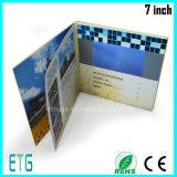 O cartão video 7 da tela nova da polegada TFT com o Manufactory A4 de papel