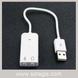 7.1 Kanal USB zum fehlerfreie Karten-Konverter-Audioadapter