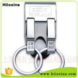 Fabrication de trousseau de clés de mode aucun trousseau de clés fait sur commande du trousseau de clés DEL de véhicule de MOQ