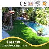 Tappeto erboso sintetico dell'erba della natura del balcone e tappeto erboso artificiale di alta qualità