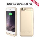 caisse de batterie de côté du pouvoir 8000mAh pour l'iPhone 6s plus (HB-150)
