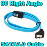 HDD SSD SATA Cable를 위한 최고 Speed Straight Right Angle 6gbps 50cm SATA 3.0 Cable 6GB/S SATA III SATA 3 Cable Flat Data Cord