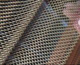 着色されたPVC上塗を施してあるチェーン・リンクの金網の/Diamondの穴のチェーン・リンクのスポーツの囲うこと