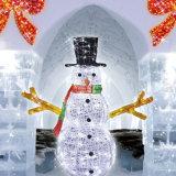 LEDの雪の人ライト