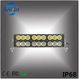 16.6 lumière de véhicule de la qualité DEL de la rangée DEL de lumens élevés de la barre 180W d'éclairage LED de pouce double