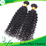 급료 7A Hair Extension, Unprocessed 브라질 Human Virgin Hair