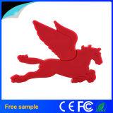 Mecanismos impulsores libres del flash del USB de la dimensión de una variable del caballo de la insignia 3D de la aduana (JT041)