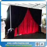良質品の写真ブースの管はキットのカーテンの立場をおおい、