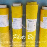 Engranzamento amarelo da impressão da tela