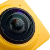 Câmera da ação do cubo 360 com ângulo 360A largo