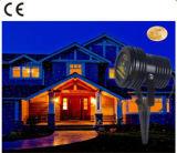 Mini luz do projetor do laser do jardim do efeito do PONTO da estrela para o jardim do Natal ao ar livre