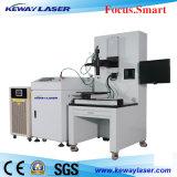 Máquina de solda a laser de fibra de aço / metal