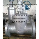 Válvula de porta da extremidade da flange da engrenagem de sem-fim do aço de carbono do molde API600
