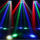 8PCS 3W 2eyes 백색 2 눈 빨간 2eyes 녹색 2 눈 파란 LED 소형 단계 거미 빛