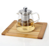 280/450/700ml Handmade Glass Calore-resistente Teapot