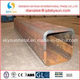 Place épaisse de faible diamètre d'épaisseur de paroi et tube en acier rectangulaire