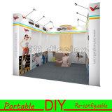 Projeto portátil & Re-Configurable Customisable da cabine do indicador da exibição da feira profissional