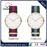 Montre-bracelet en nylon multicolore de Dw de copie de mode de la courroie 2015 (DC-860)