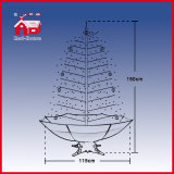 Nuovo Style Snowing Christmas Tree con Music ed il LED Lights