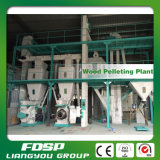 CE Approved 2t/H Biomass Wood Pelleting Mill Plant