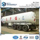 반 세 배 차축 BPW Alxes 35t LPG 탱크 트레일러