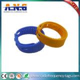 Bracelet imperméable à l'eau de silicones d'IDENTIFICATION RF de fréquence ultra-haute de puce de H3 avec 860-960MHz