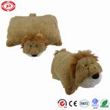 Meilleur coussin mignon de vente populaire de palier de jouet de bâti de copains de lion