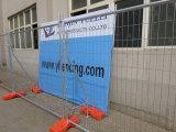 Frontière de sécurité provisoire galvanisée par construction détachable/frontière de sécurité provisoire de l'Australie/clôture provisoire