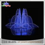 Do Natal feericamente azul do diodo emissor de luz de CE/RoHS luzes ao ar livre da fonte de Docoration