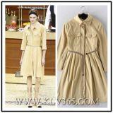 China-europäisches Form-Büro-Dame-Mantel-Art-Hemd-Großhandelskleid