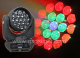 19PCS*12W 4in1 Osramの蜂の目LEDの洗浄ズームレンズの移動ヘッドビームライト