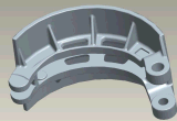 Brake Shoes / Brake Pad / Tambour de frein pour Chang an Bus