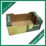 Boîte faite sur commande à fruit de papier ondulé
