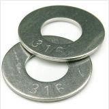 Usines plates de professionnel de rondelles de l'acier inoxydable M1-M24 316