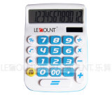 Big LCD 디스플레이와 Keys (LC201-12D)를 가진 12의 손가락 Dual Power Desktop Calculator