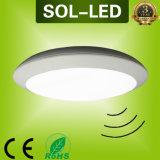 IP65 Waterproof 12-30W LED Ceiling Light (Motion Mikrowelle Sensor oder Notfall)