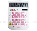 12 dígitos Dual Power Desktop Calculator com Big LCD Display e Keys (LC201-12D)
