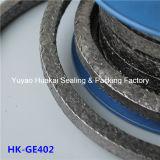 Embalagem trançada reforçada inoxidável da grafita do fio de aço flexibilidade elevada de Strengh da boa