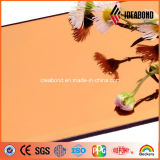 실내와 옥외 훈장을%s Ideabond 상표 1220*2440mm 금관 악기 미러 알루미늄 합성 위원회