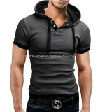 新式の綿の方法ポロシャツ