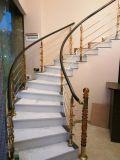 в самом последнем способе акрилового поручня лестницы колонки