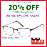 Do Slime cheio do frame do metal frame ótico de Eyewear