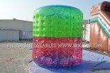 Rodillo que camina del agua, bola inflable de Zorb del balanceo del PVC, rodillos inflables coloridos del agua de Zorbs, bola de la onda